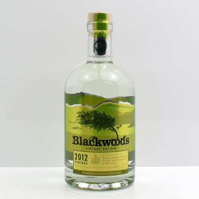 Blackwoods 2012 Superior Vintage Dry Gin