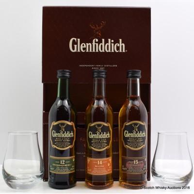 Glenfiddich Family Distiller's Collection 3 x 10cl