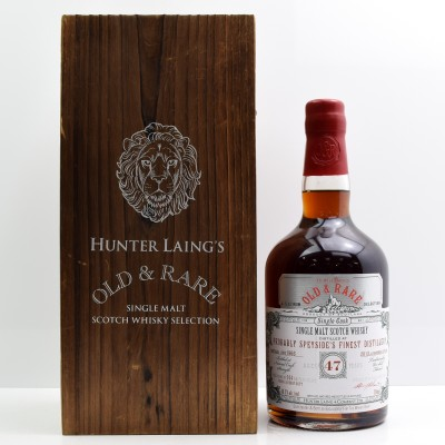 Probably Speyside's Finest Distillery 1966 47 Year Old Hunter Laing's Old & Rare