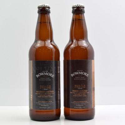 Bowmore Feis Ile 2014 Bourbon Matured Ale 50cl & Sherry Matured Ale 50cl