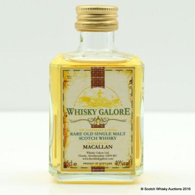 Macallan Whisky Galore Mini 5cl