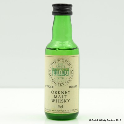 SMWS Orkney Mini 5cl