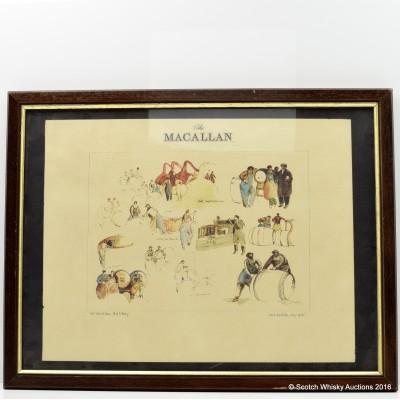 Macallan Framed Print