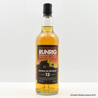 Aberlour 12 Year Old Runrig At Edinburgh Castle