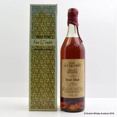 Van Winkle Family Reserve 1974 16 Year Old 75cl