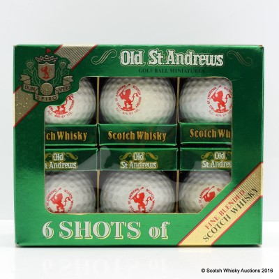 Old St. Andrews Six Shots 5cl