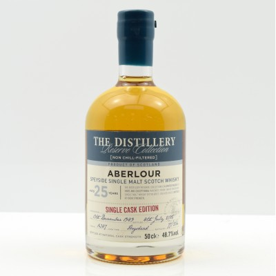 Aberlour 1989 25 Year Old Distillery Exclusive Reserve Collection 50cl