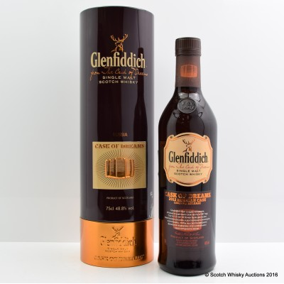 Glenfiddich Cask Of Dreams 2012 Russian Edition 75cl