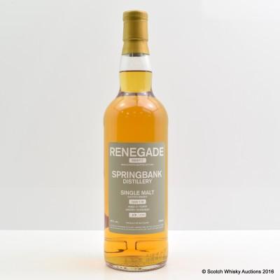 Springbank 21 Year Old Renegade