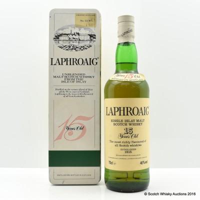 Laphroaig Pre Royal Warrant 15 Year Old 75cl