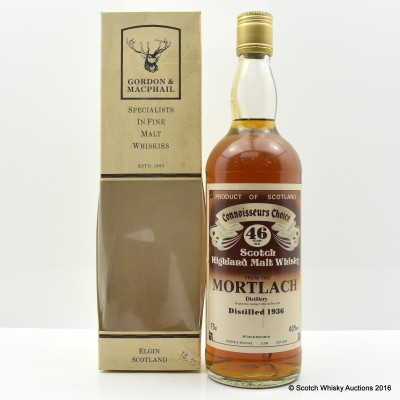 Mortlach 1936 46 Year Old CC 75cl