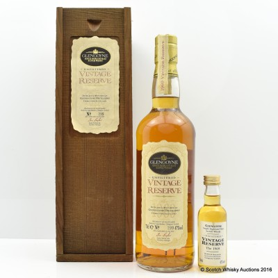 Glengoyne 1969 Vintage Reserve and Matching Mini 5cl