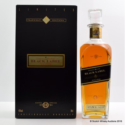 Johnnie Walker Black Label Millennium Edition 12 Year Old