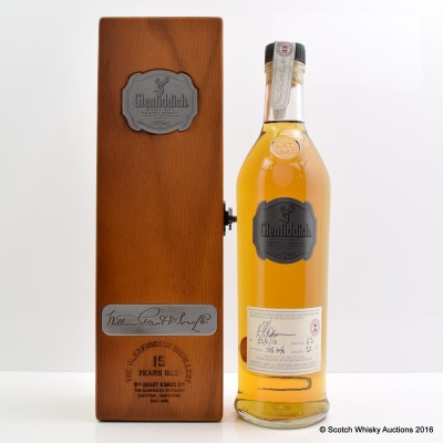 Glenfiddich Distillery Only Hand Filled 15 Year Old