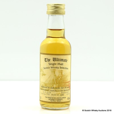 Craigellachie 1978 16 Year Old The Ultimate Mini 5cl