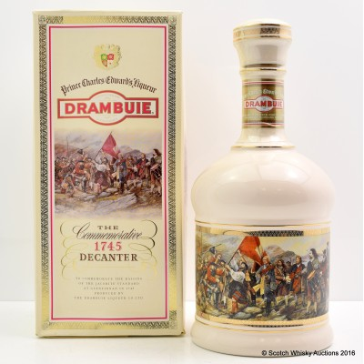 Drambuie Liqueur Commemorative  1745 Decanter 75cl