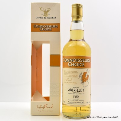 Aberfeldy 1990 19 Year Old CC