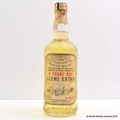 Springbank 8 Year Old Glens Extra 75cl