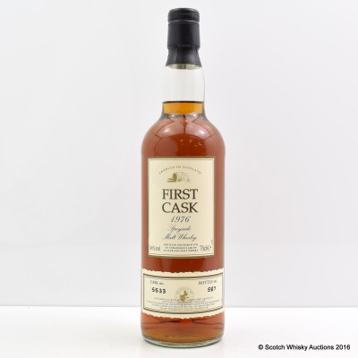 Glenlivet 1976 24 Year Old First Cask