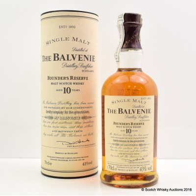 Balvenie Founder's Reserve 10 Year Old