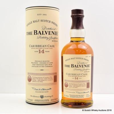 Balvenie Caribbean Cask 14 Year Old