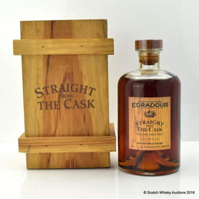 Edradour 1991 11 Year Old Straight From The Cask 50cl