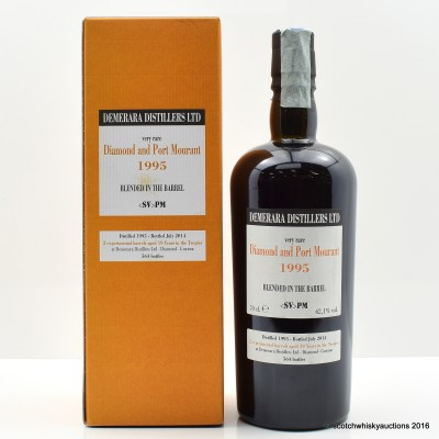 Diamond and Port Mourant 1995 19 Year Old Blended Rum