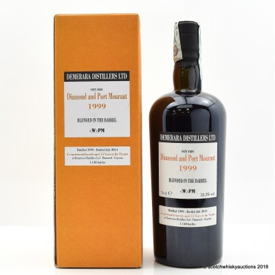 Diamond and Port Mourant 1999 15 Year Old Blended Rum