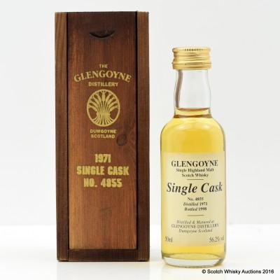 Glengoyne 1971 Single Cask #4855 5cl