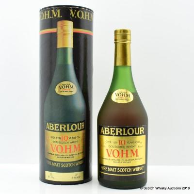 Aberlour-Glenlivet Over 10 Year Old V.O.H.M.