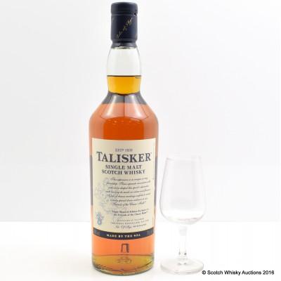 Talisker Triple Matured 2013 Edition Friends Of The Classic Malts & Tasting Glass
