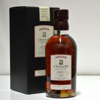 Aberlour A'bundh Batch 27