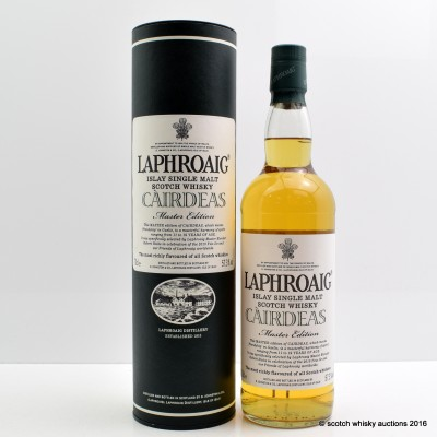 Laphroaig Cairdeas Master Edition