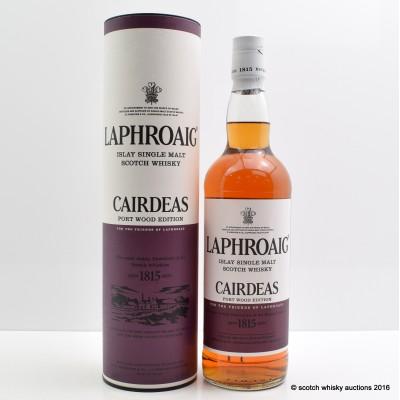 Laphroaig Cairdeas Port Wood