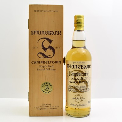 Springbank Millennium Collection 50 Year Old