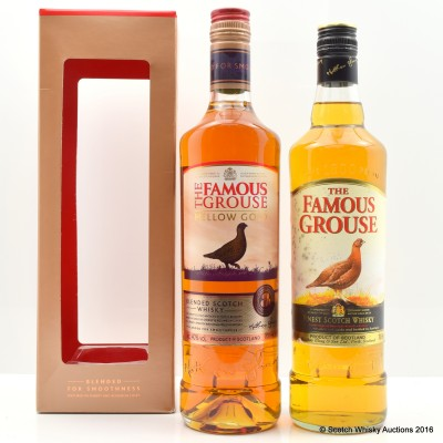 Famous Grouse & Famous Grouse Mellow Gold