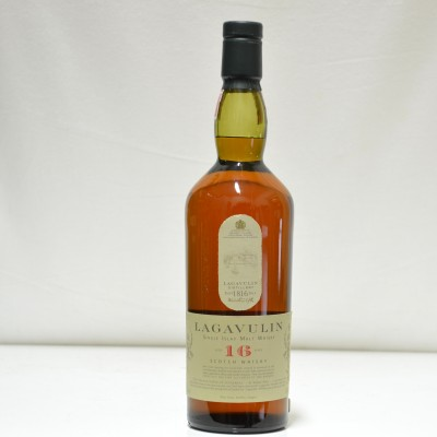 Lagavulin 16 Year Old White Horse Bottling 75cl