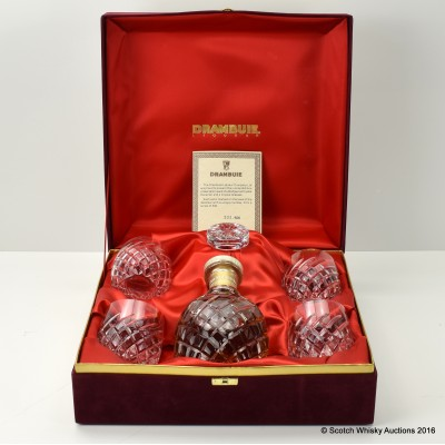 Drambuie Liqueur Wedgwood Crystal Decanter Set 75cl