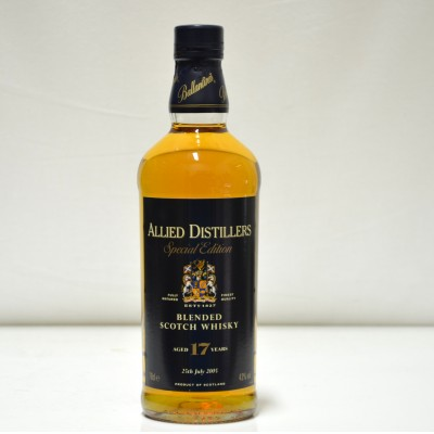 Allied Distillers 17 Year Old Special Edition Blend