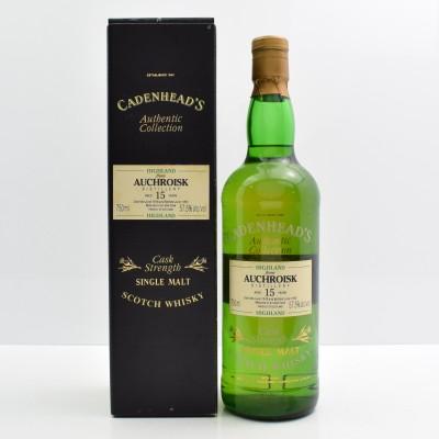 Cadenhead's Auchroisk 1978 15 Year Old 75cl
