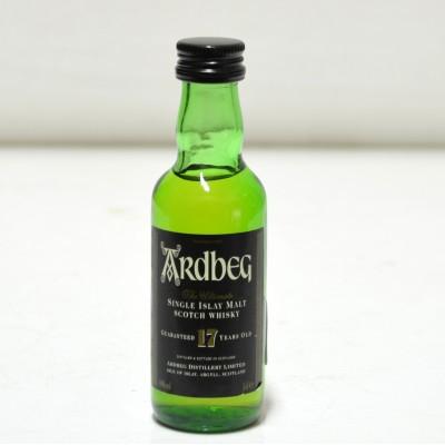 Ardbeg 17 Year Old Miniature