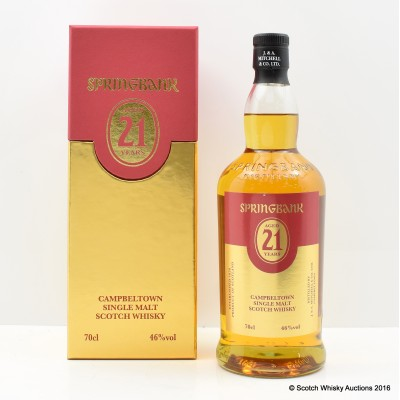 Springbank 21 Year Old 2015 Open Day