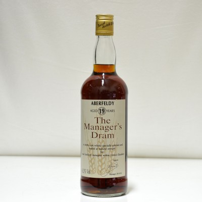 Aberfeldy 19 Year Old The Manager's Dram