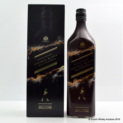 Johnnie Walker Double Black Limited Edition Design 1L