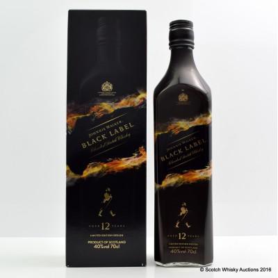 Johnnie Walker Black Label Mattia Biagi Limited Edition