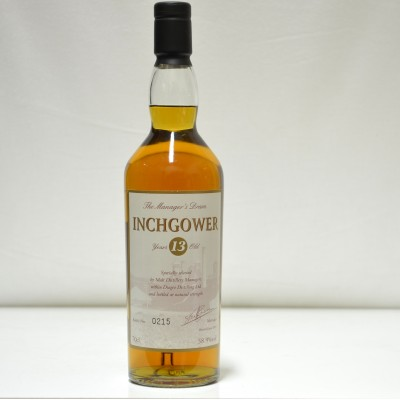 Inchgower 13 Year Old Manager's Dram