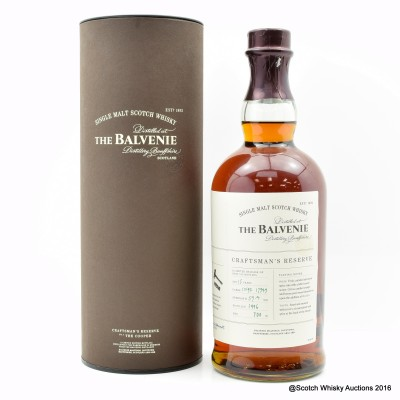 Balvenie Craftsman's Reserve The Cooper 15 Year Old