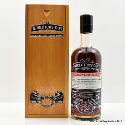Probably Speyside's Finest Distillery 1966 46 Year Old Directors' Cut