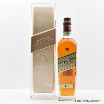 Johnnie Walker Gold Label Centenary Blend 18 Year Old Ice Pillar Edition