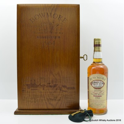 Bowmore 1964 38 Year Old Bourbon Cask